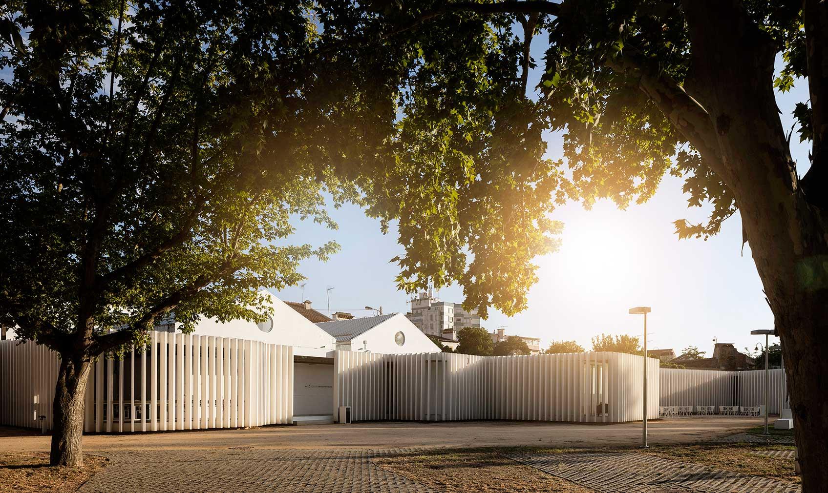 Abrantes campsite by Portuguese architecture practice Atelier Rua