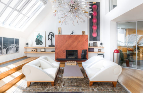 Property of the week: a gallerist's penthouse loft in Prague