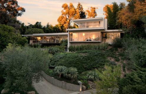 Richard Neutra's refreshed Hammerman House lists for $13.5m in LA