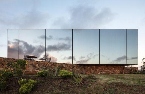 Uruguay's Sacromonte Landscape Hotel blends into the landscape