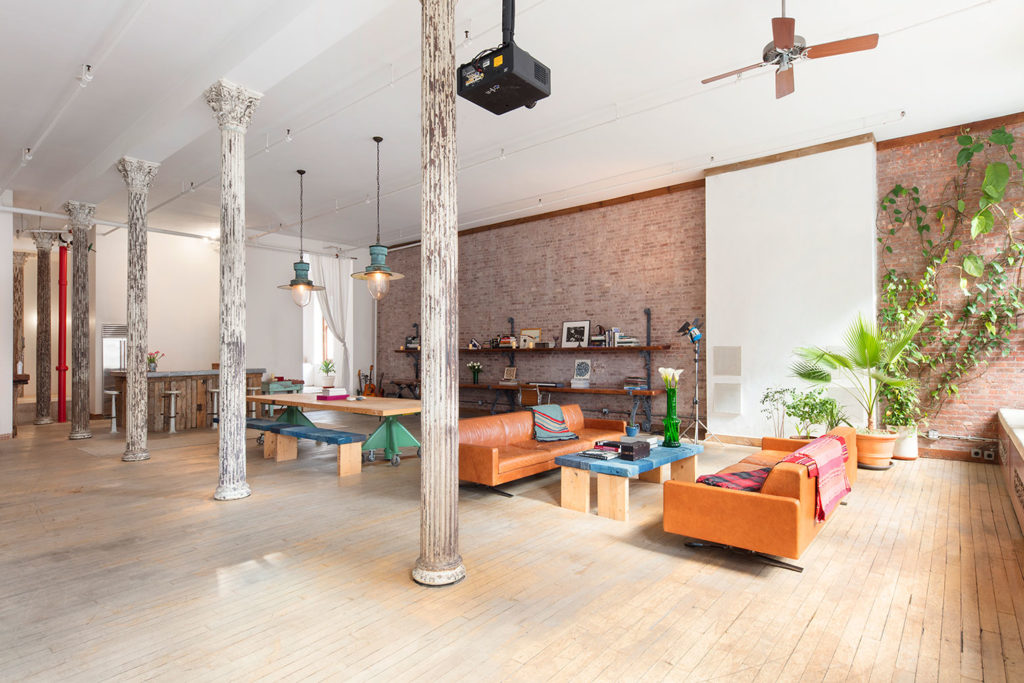 A vast photographer s loft in soho hits the market for 4m for Nyc loft for sale