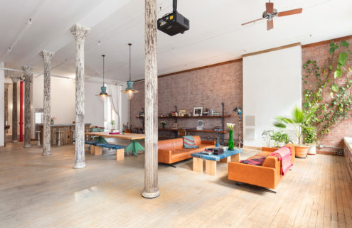 A vast photographer's loft in SoHo hits the market for $4m