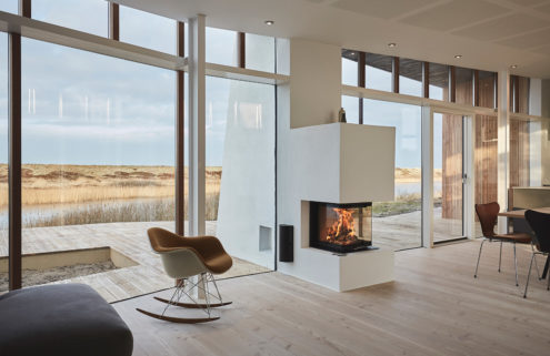 Holiday home of the week: a lakeside retreat in Denmark