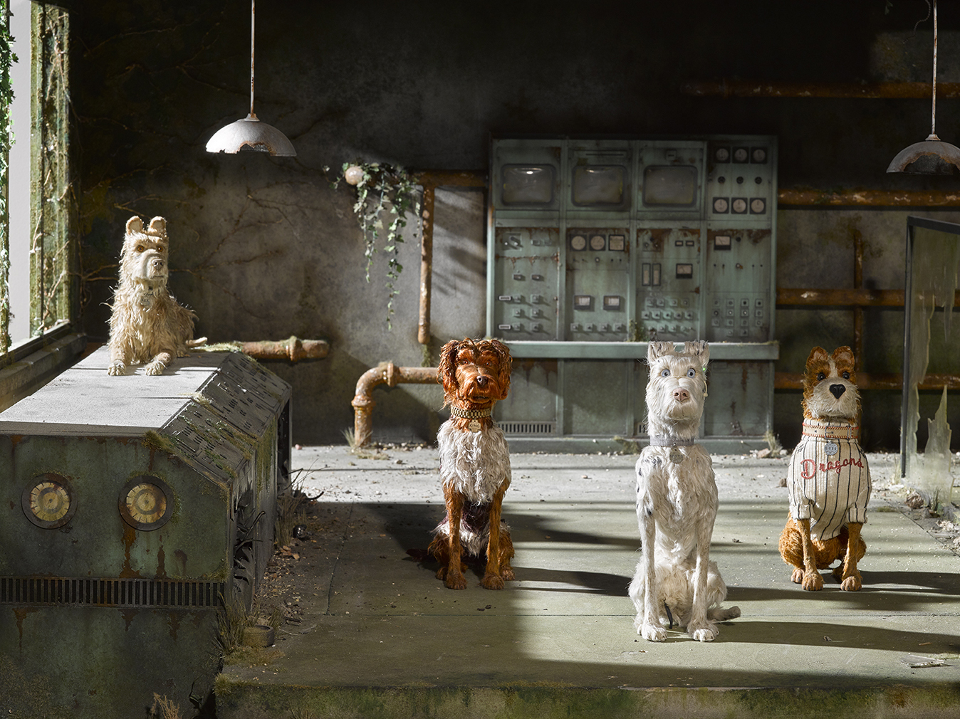 Sets from Wes Anderson's Isle of Dogs