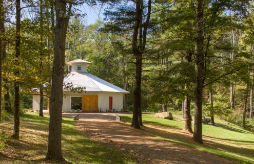 Octagonal barn home hits the market in New York State for $1.275m
