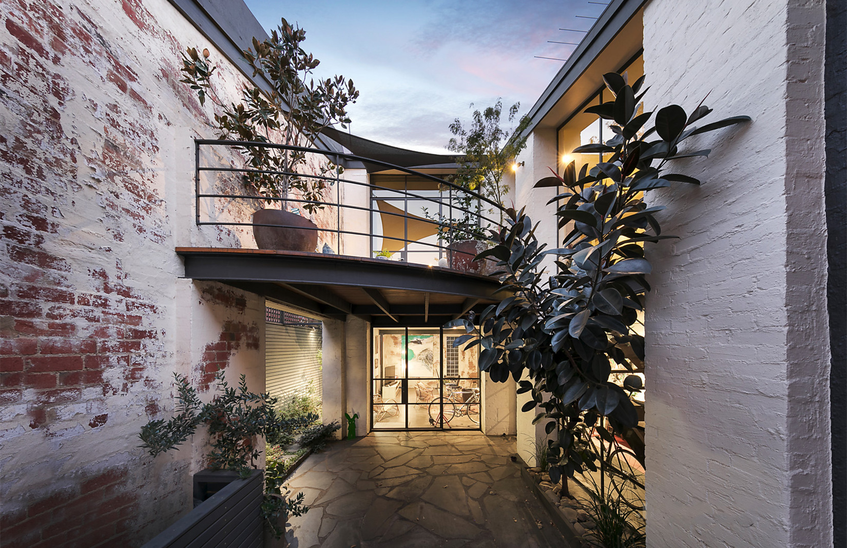 Converted Melbourne Warehouse With A Hidden Courtyard Is