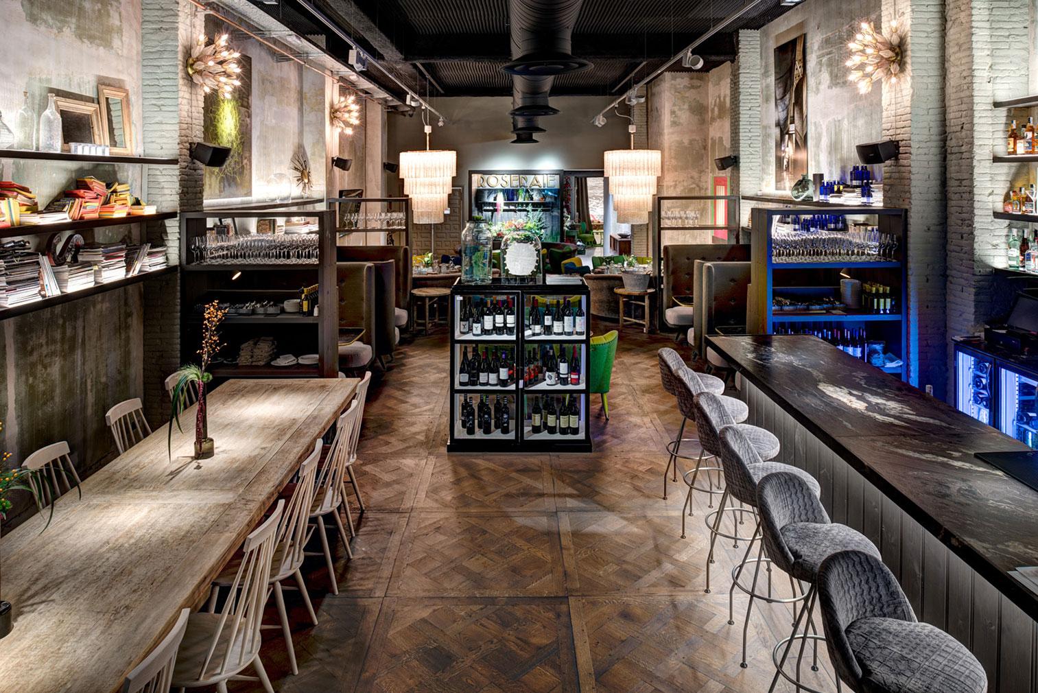 Barcelona restaurant Disfrutar Jaime Beriestain Cafe