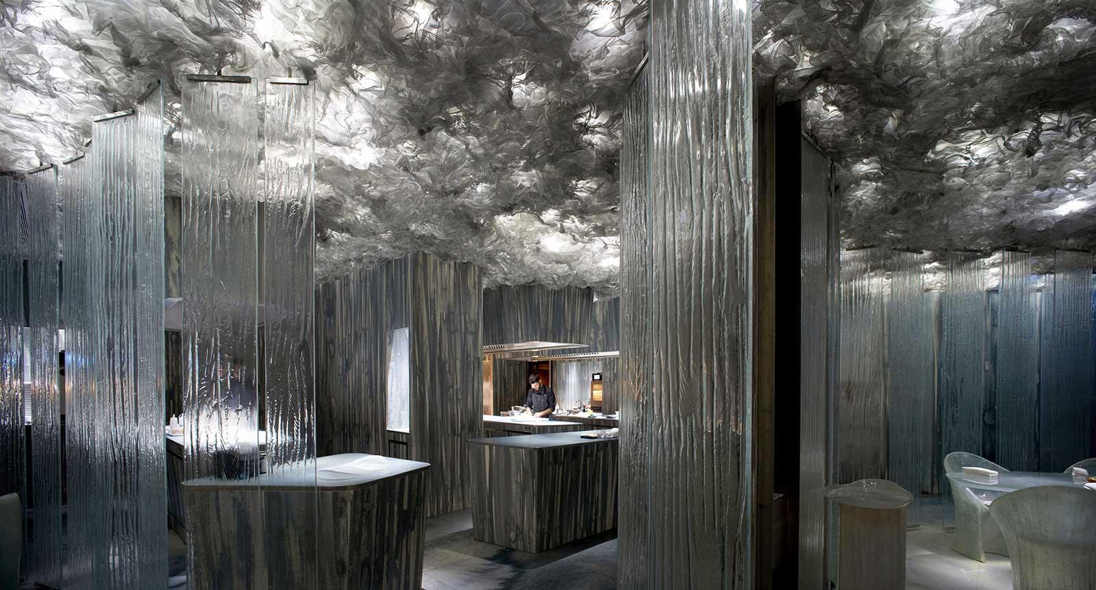 Barcelona restaurant Enigma