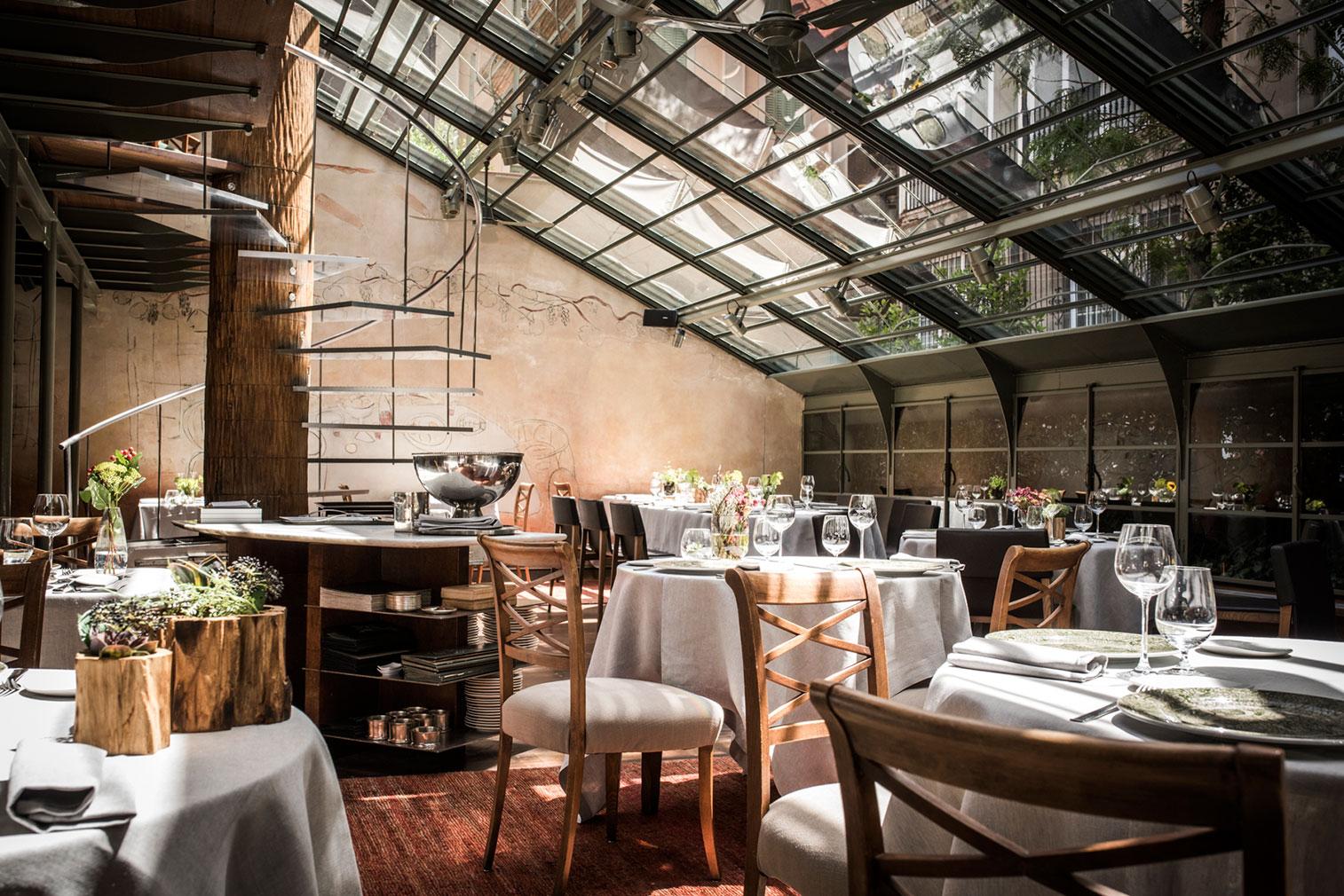 Barcelona restaurant Tragaluz