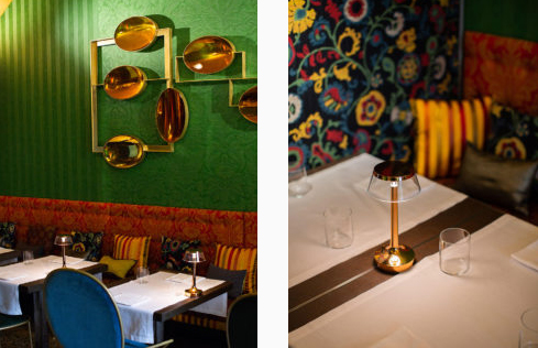 Gallerist Rossana Orlandi and Etro design a new bistro in Milan