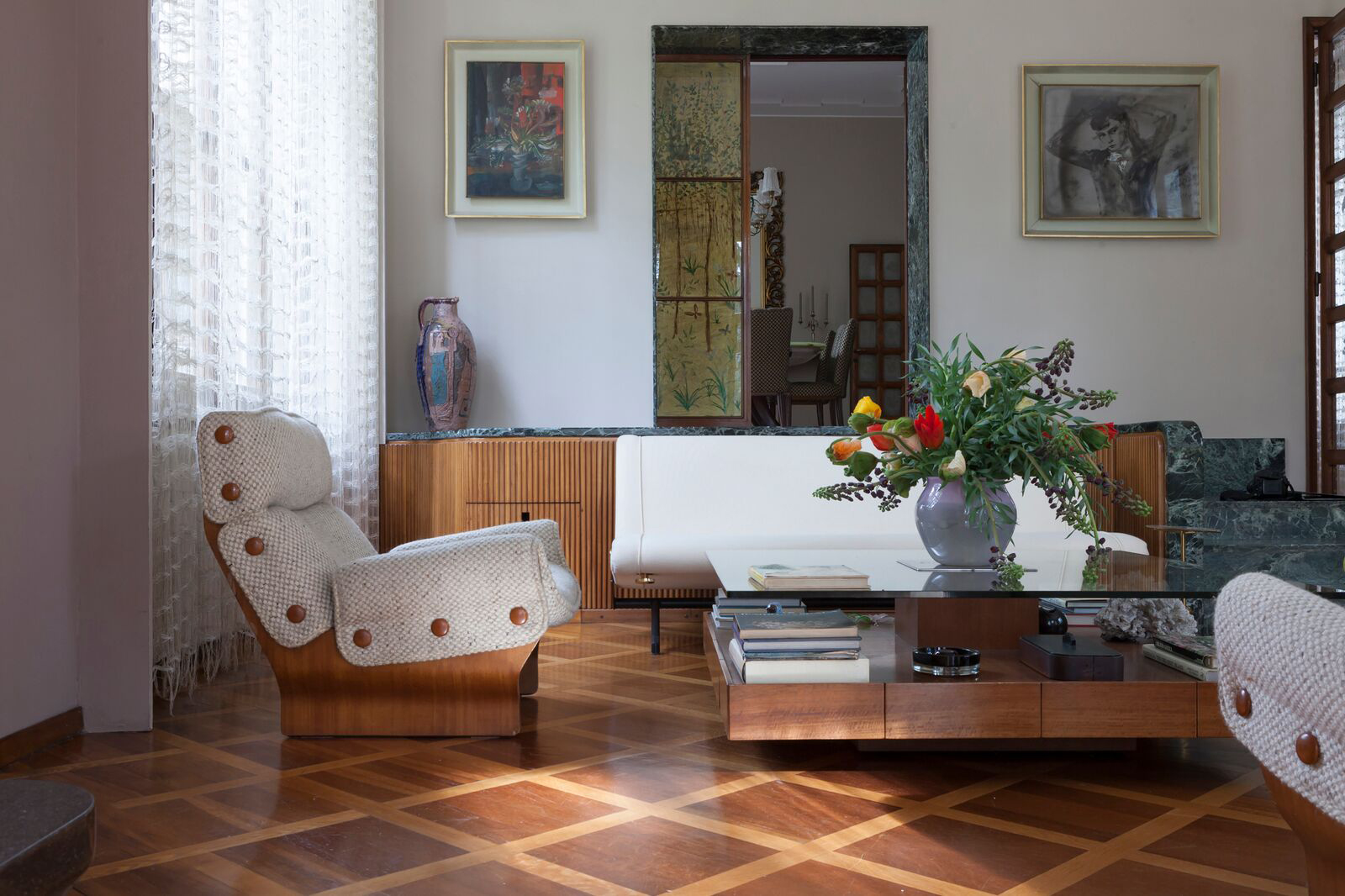 How Milan's Villa Borsani is a testament to an unsung design hero