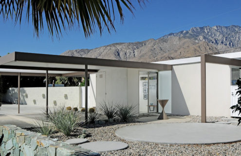 Radical 1960s prefab home lists for $839,000 in Palm Springs