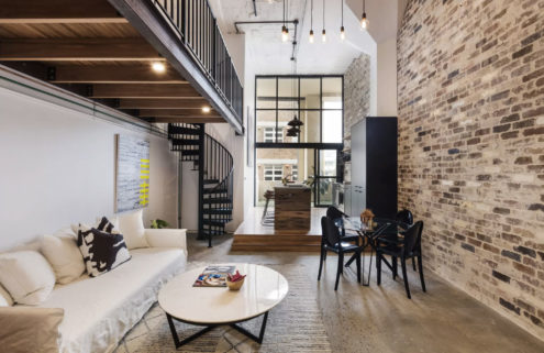 Revamped Sydney loft with industrial bones is headed for auction