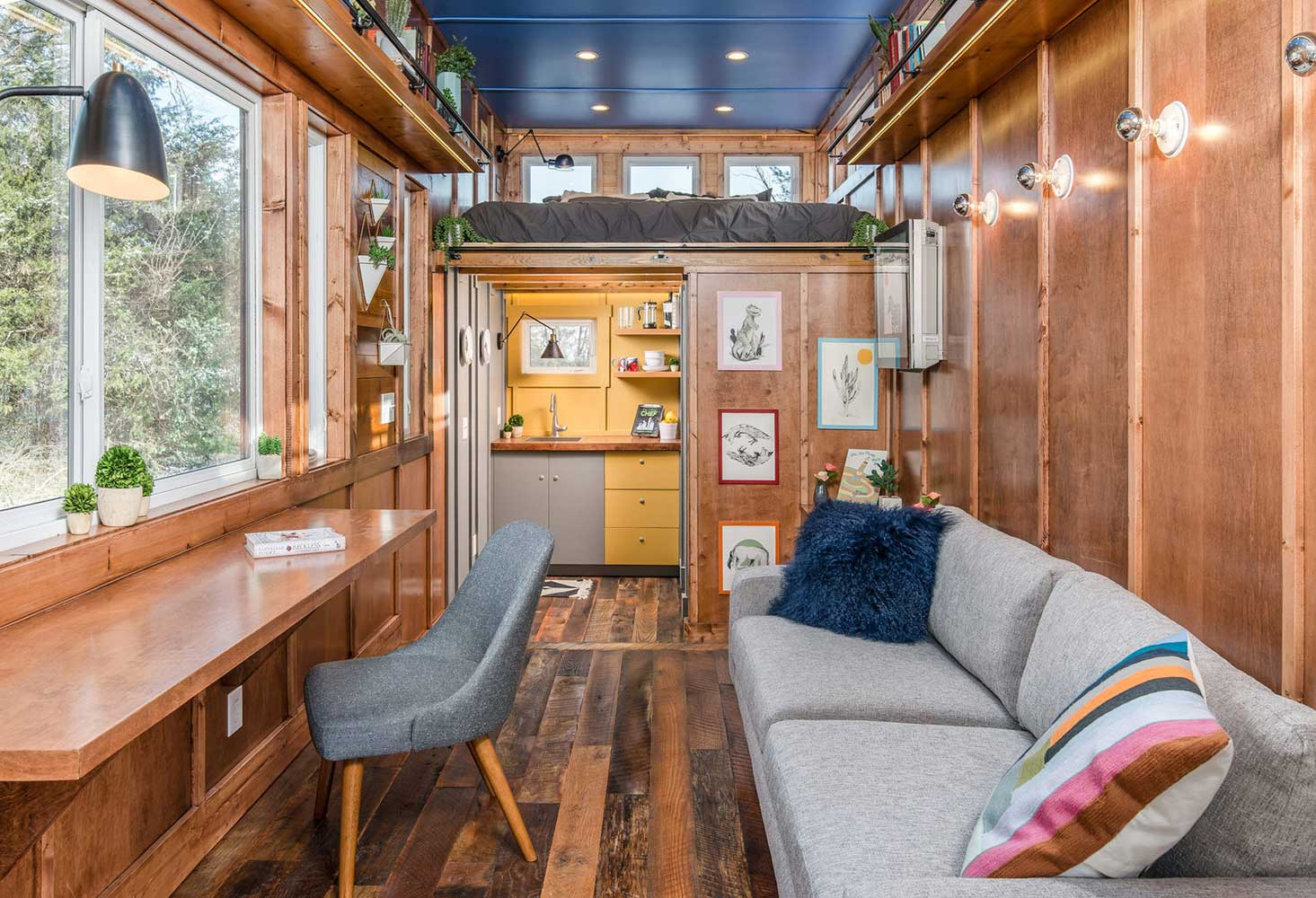The Cornelia cabin from New Frontier Tiny Homes