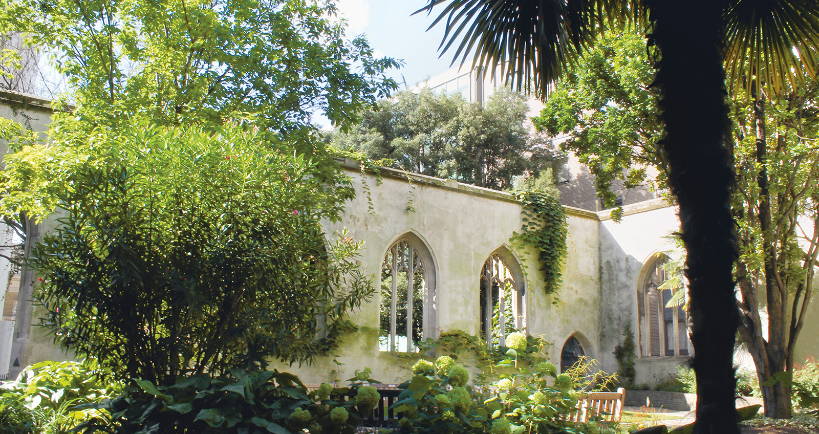 St Dunstan-In-the-East, London, UK. Photography courtesy City of London Corporation
