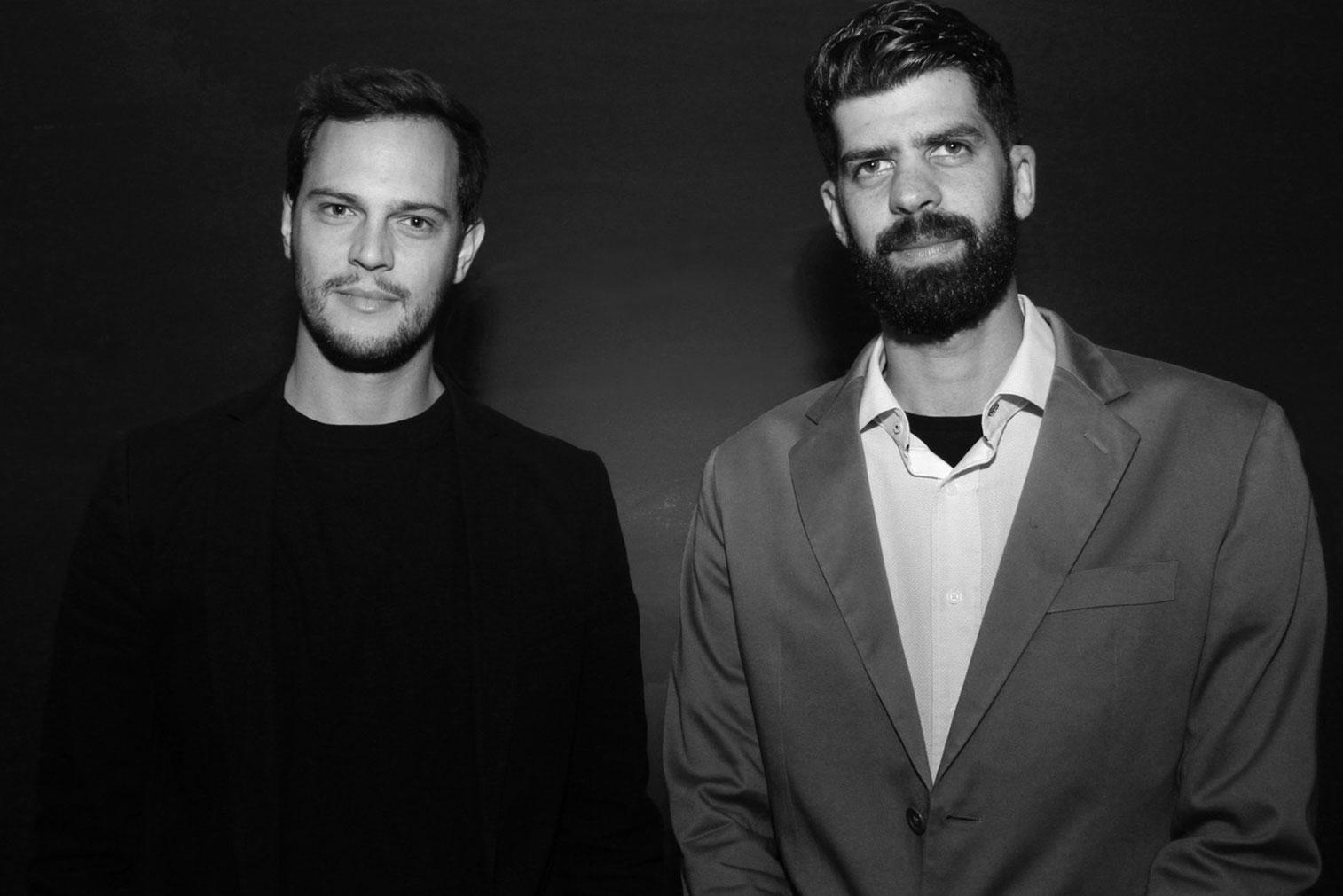 Gustavo Utrabo and Pedro Duschenes of Aleph Zero - winner of the RIBA Emerging Architect Award 2018
