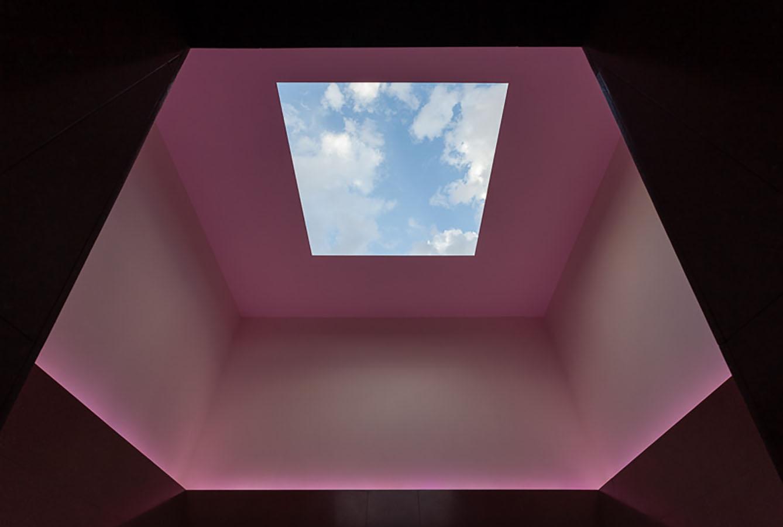 Las Vegas prefab with a James Turrell Skyspace