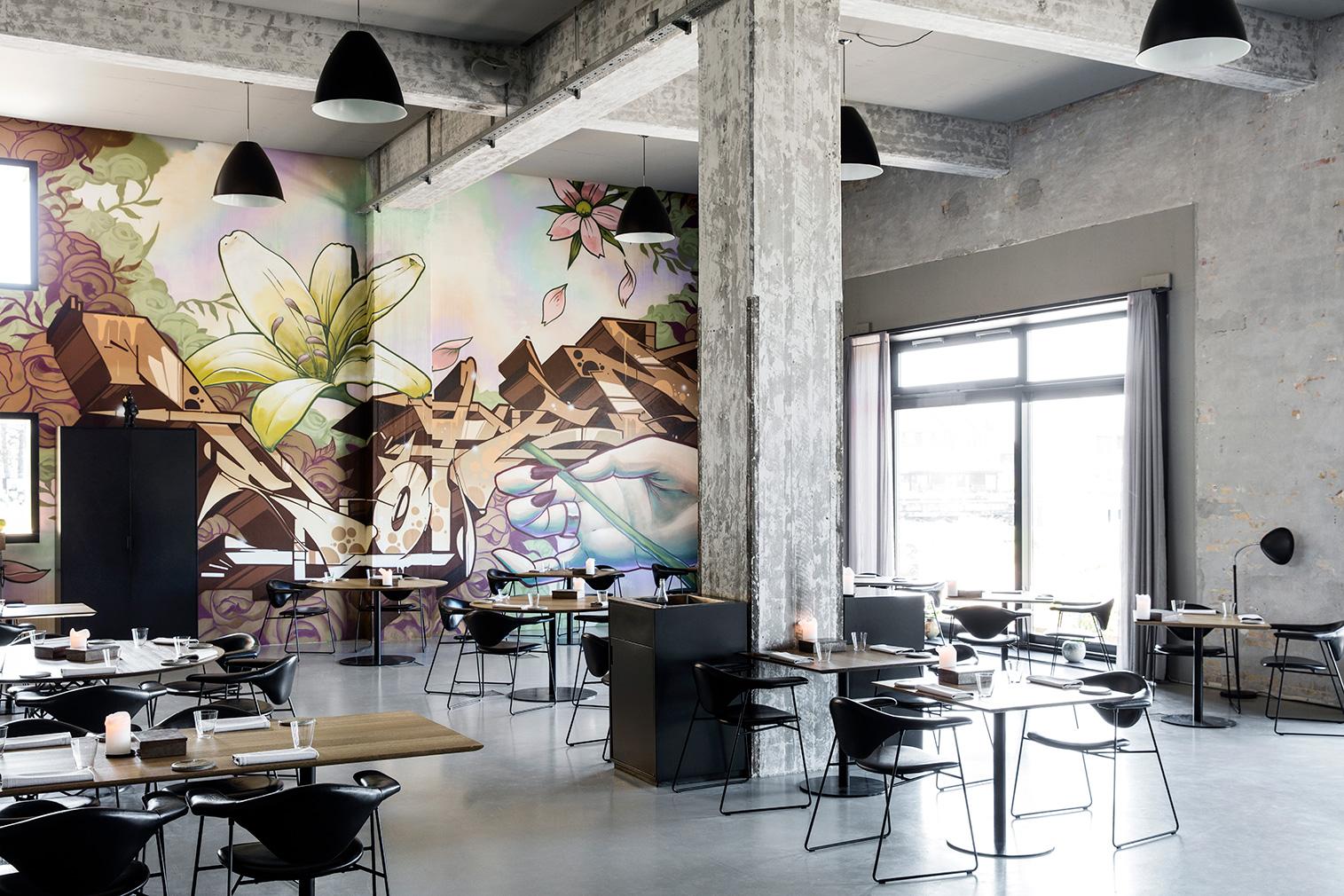 Amass restaurant in Copenhagen