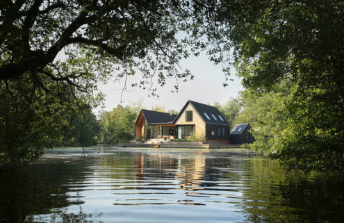 Holiday home of the week: a lagoon-side eco home in the Norfolk Broads