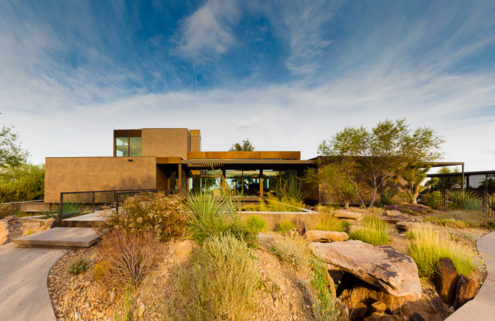 A Las Vegas prefab with a 'Skyspace' by James Turrell lists for $14.5m