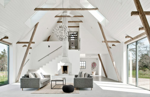 Property of the week: a lofty barn conversion in Sweden's Österlen