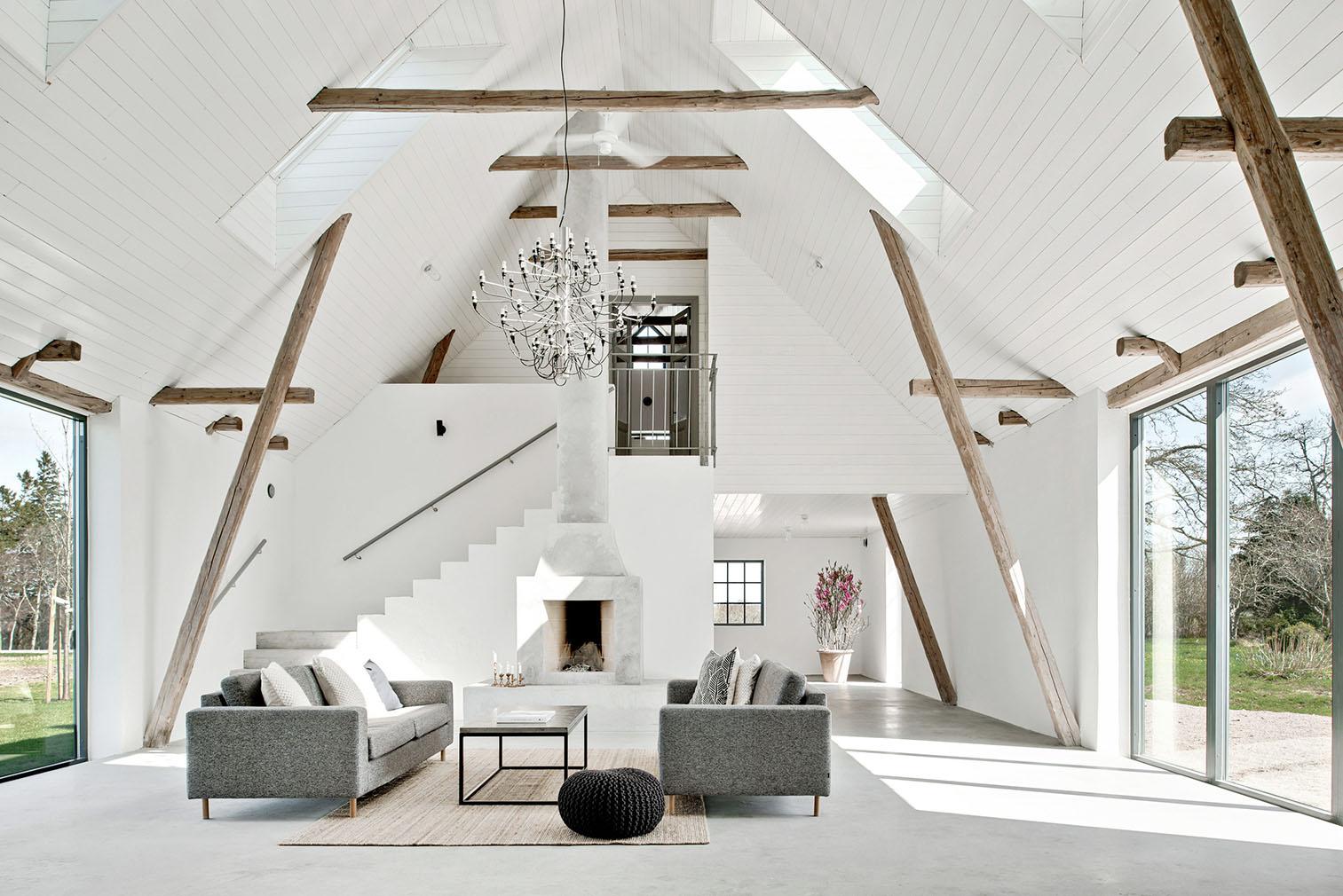 Property of the week: A lofty barn conversion in Sweden's Österlen