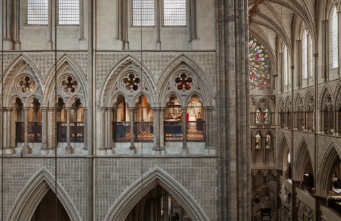 Peek inside the Queen's Diamond Jubilee Galleries at Westminster Abbey