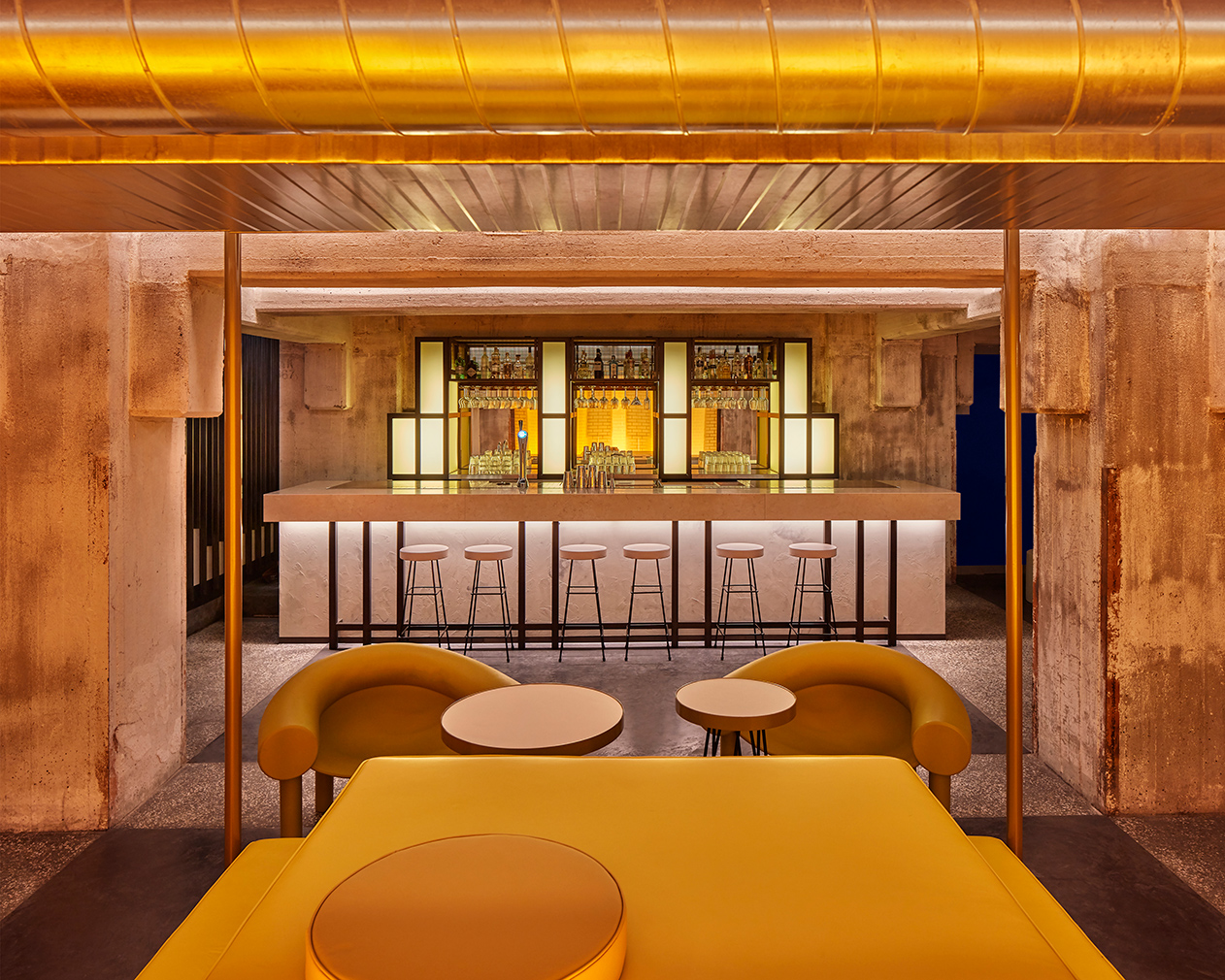 Studio Modijefsky serves up a feast of colour at new Maastricht restaurant The Commons