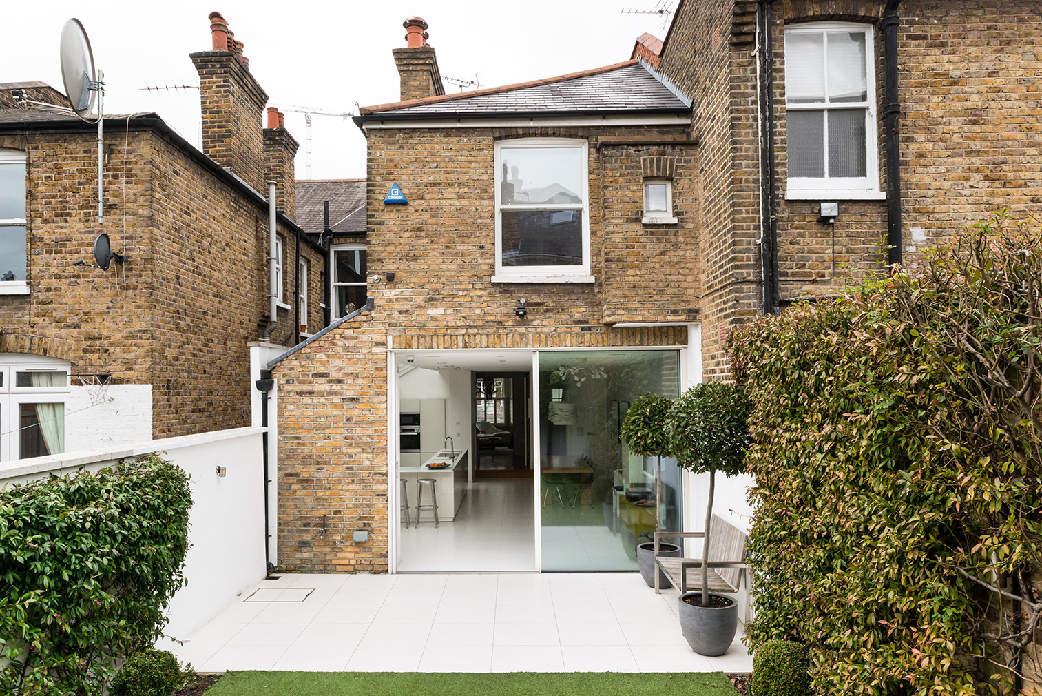 Highlever Road is currently on the market via The Modern House for £2.75m. Courtesy of The Modern House