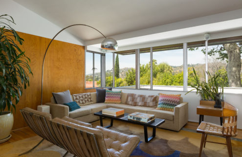 Richard Neutra's hillside Bonnet House in LA lists for $1.7m