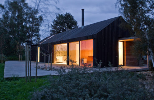 Holiday home of the week: an architect's island retreat in Denmark