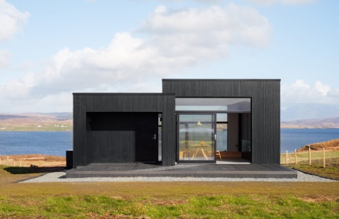 Hunker down in this rustic retreat on the Isle of Skye