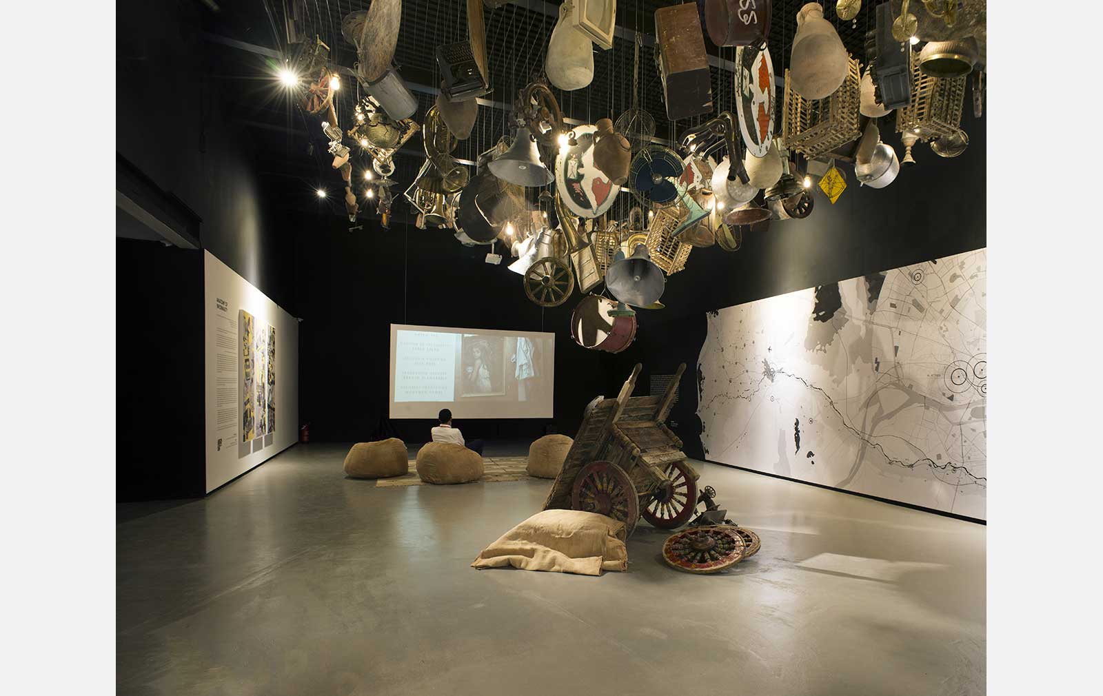 The Egyptian pavilion at the Venice Architecture Biennale