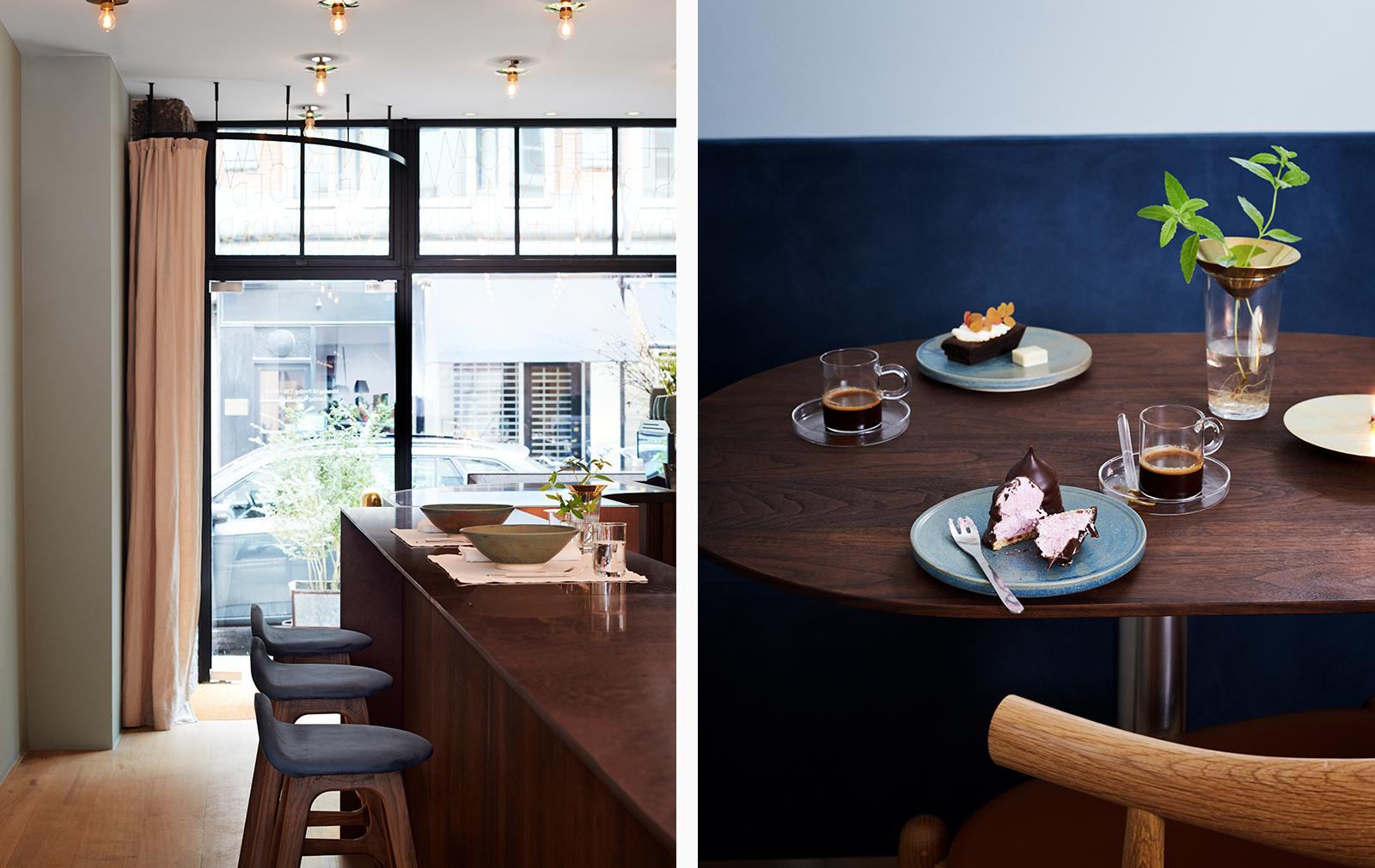 Winterspring restaurant interiors Copenhagen