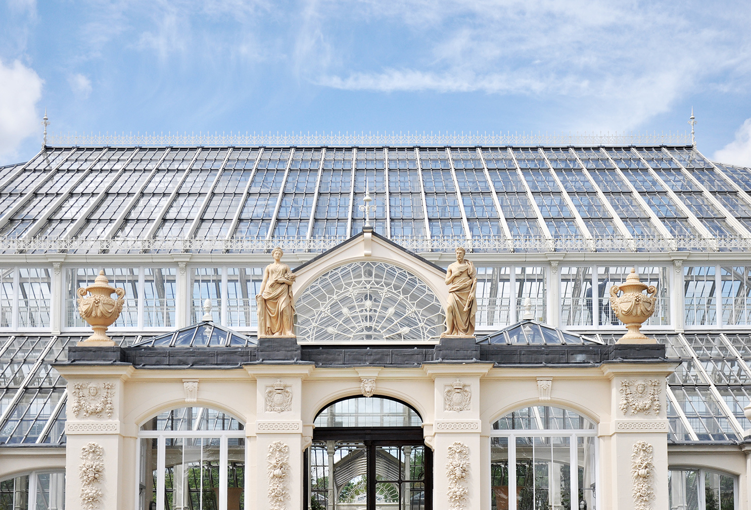 Kew Gardens' revamped Temperate House