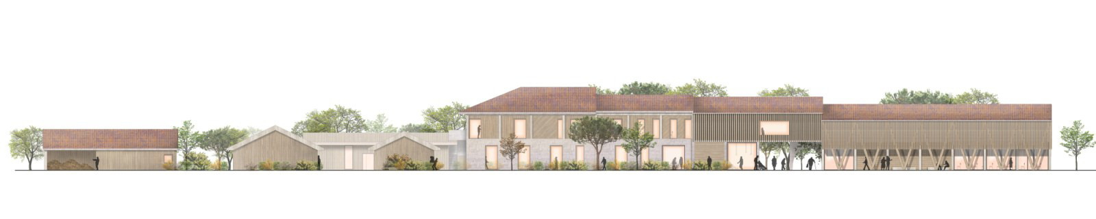 Alzheimers village in France designed by Nord Architects