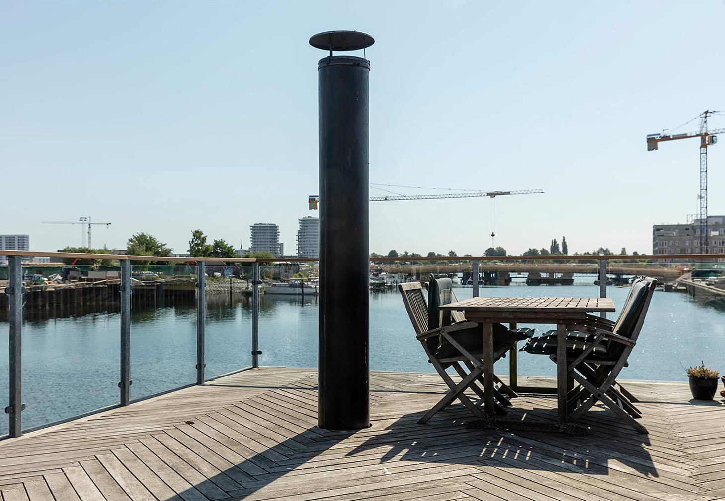 Cubic Danish houseboat hits the market for 5.9m DDK