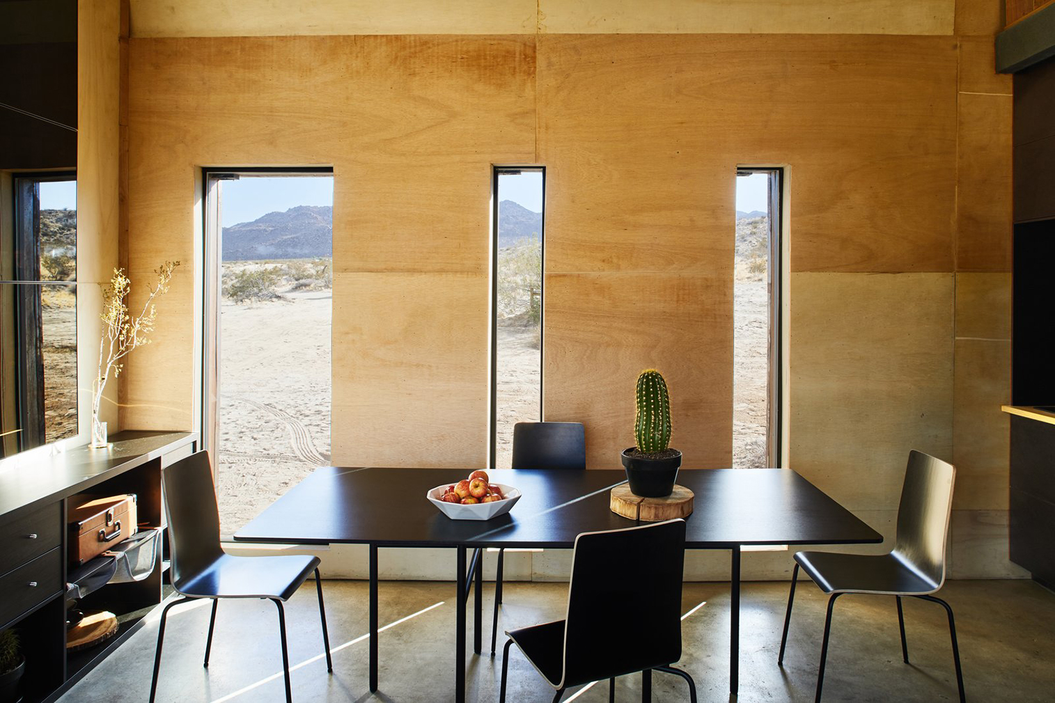 Salvaged Steel Cabins Pop Up In California S Joshua Tree