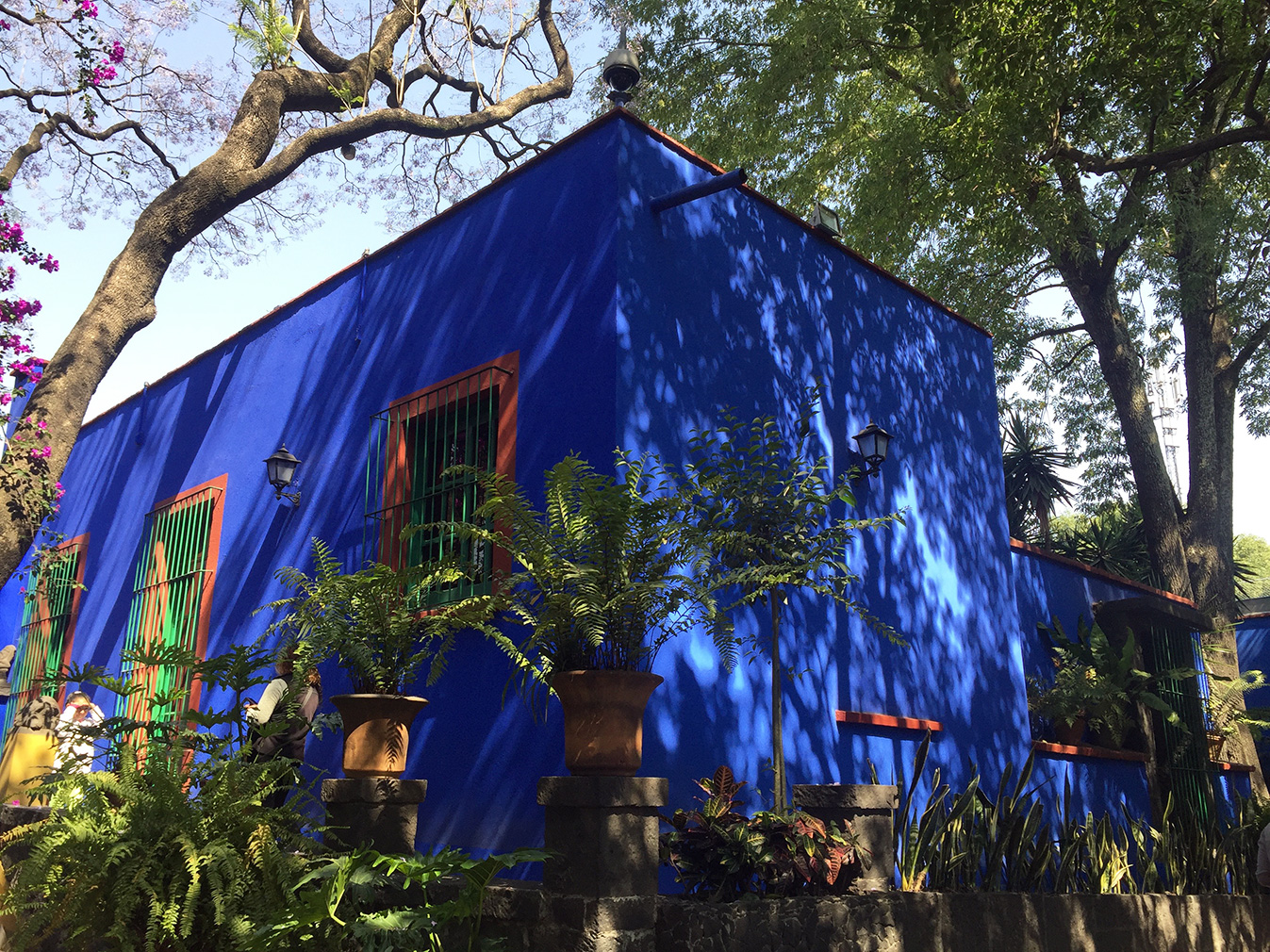 Explore the fascinating house museums of Mexico City: Frida Kahlo's blue house