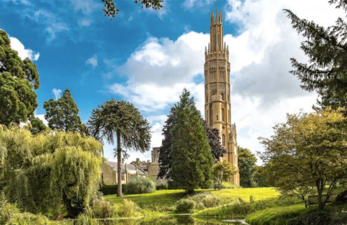 Rapunzel-style Gothic tower in Kent lists for £2m