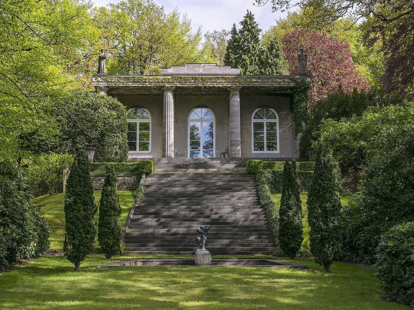 Karl Lagerfeld's Villa Jako is for sale in Hamburg