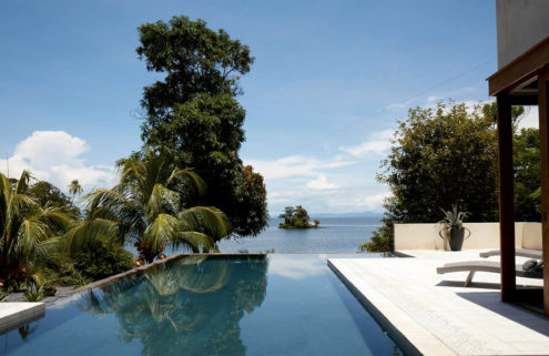 Inside an island hacienda on Lake Nicaragua
