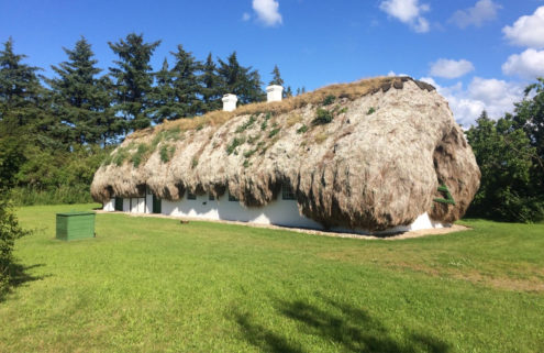 Traditional seaweed house on a Danish island lists for 2.6m DKK