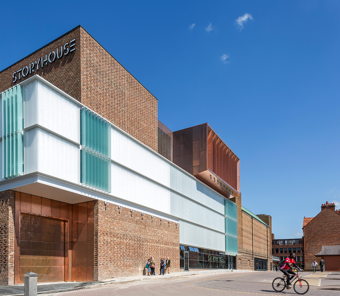 Storyhouse by Bennetts Associates with Ellis Williams. Photography: Peter Cook