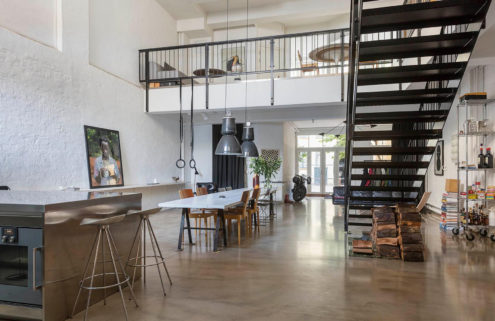 Property of the week: a converted smithy in the heart of Copenhagen