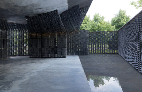 Frida Escobedo's 2018 Serpentine Pavilion is a cultural compass