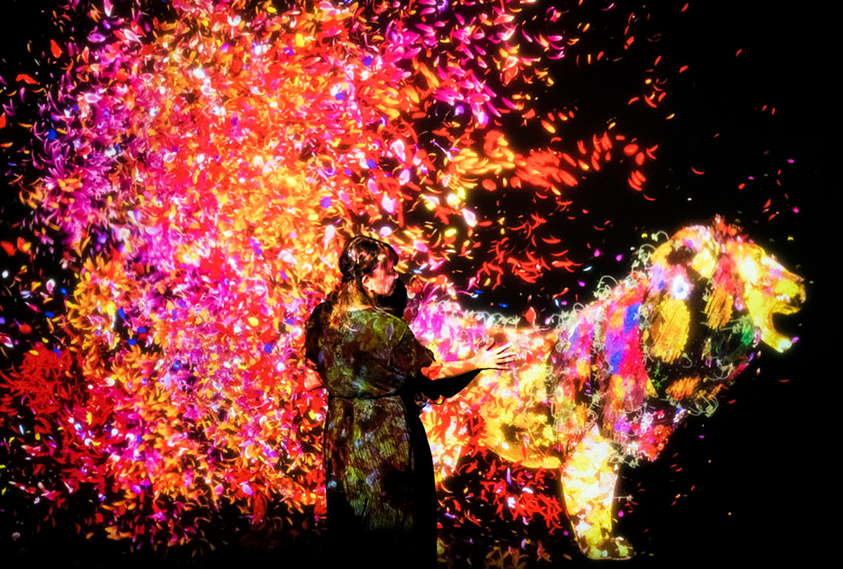TeamLab launches the world's first digital art museum in Tokyo