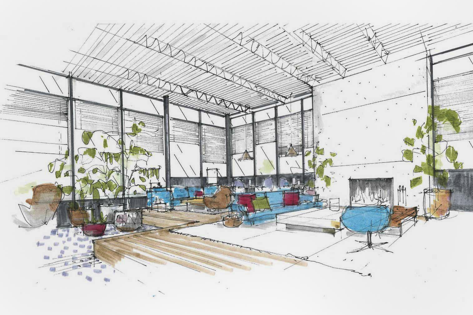A sketch of Eaton Hotel, Washington, DC