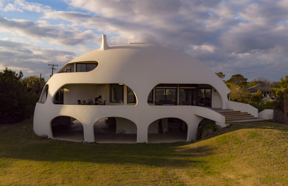Hurricane Proof Dome Home Hits The Market Near Charleston