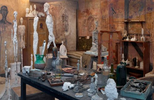 Alberto Giacometti's studio comes to life in Paris